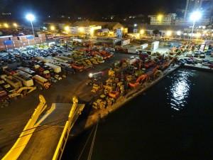 Dakar bei Nacht