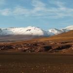 Cerro mit Schnee