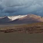 Cerro mit Unwetter