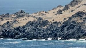 Sand zum Meer